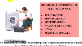 Reparatii electronice si electrocasnice