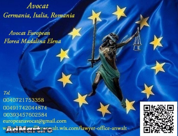 Avocat  Germania  Romania Italia