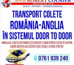 Transport colete Romania - Anglia - Door to Door