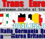 Transport persoane Romania Germania tur-retur