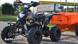 Atv Galaxy  Leopard  R7 125cc BLACK, Import German