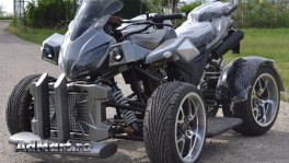 ATV Nitro EEC Quad Hurricane 250 Import Gemania
