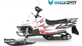 SnowMobile Whitefox Model Snowrider 2.2