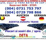 TRANSPORT PERSOANE ROMANIA-AUSTRIA-GERMANIA