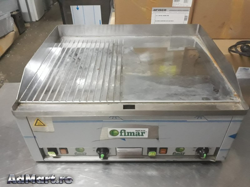 Gratar inox elect.  neted-striat Italia second