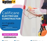 Electrician Constructor cu OPTIM AD CALIFICARI!