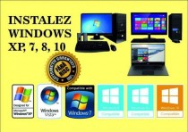 Instalez Windows 7,8,10 - All inclusive 50 ron
